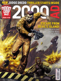 Cover Thumbnail for 2000 AD (Rebellion, 2001 series) #1718