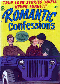 Cover Thumbnail for Romantic Confessions (Hillman, 1949 series) #v2#10