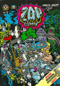 Cover Thumbnail for Zap Comix (Last Gasp, 1982 ? series) #5 [5th print- 2.50 USD]
