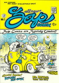 Cover Thumbnail for Zap Comix (Last Gasp, 1982 ? series) #1 [8th print- 2.50 USD]