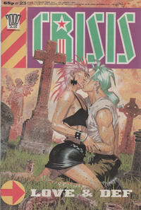 Cover Thumbnail for Crisis (Fleetway Publications, 1988 series) #23