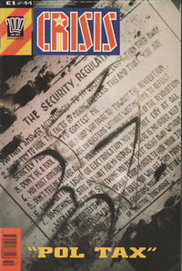Cover for Crisis (Fleetway Publications, 1988 series) #44
