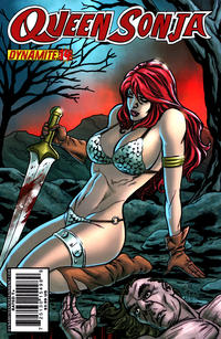 Cover Thumbnail for Queen Sonja (Dynamite Entertainment, 2009 series) #14 [Carlos Rafael Cover]