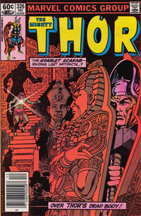 Cover Thumbnail for Thor (Marvel, 1966 series) #326 [Newsstand]