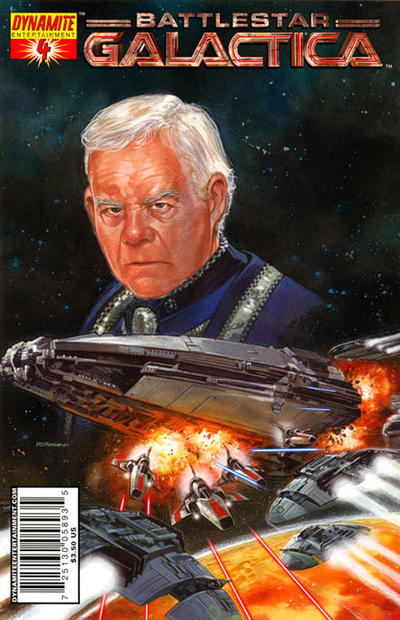 Cover for Classic Battlestar Galactica (Dynamite Entertainment, 2006 series) #4 [4B]