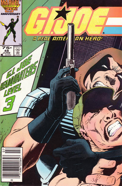 Cover for G.I. Joe, A Real American Hero (Marvel, 1982 series) #48 [Direct Edition]