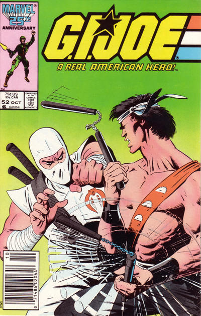 Cover for G.I. Joe, A Real American Hero (Marvel, 1982 series) #52 [Direct Edition]