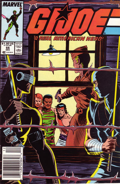 Cover for G.I. Joe, A Real American Hero (Marvel, 1982 series) #66 [Direct]