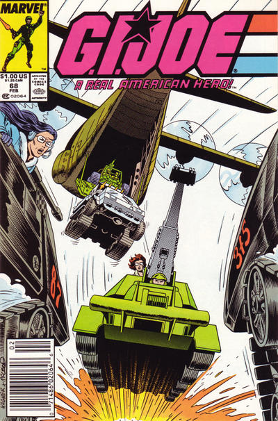 Cover for G.I. Joe, A Real American Hero (Marvel, 1982 series) #68 [Newsstand Edition]