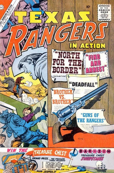 Cover for Texas Rangers in Action (Charlton, 1956 series) #26