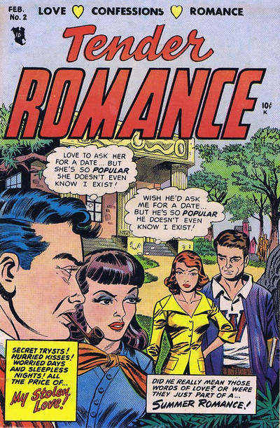 Cover for Tender Romance (Stanley Morse, 1953 series) #2