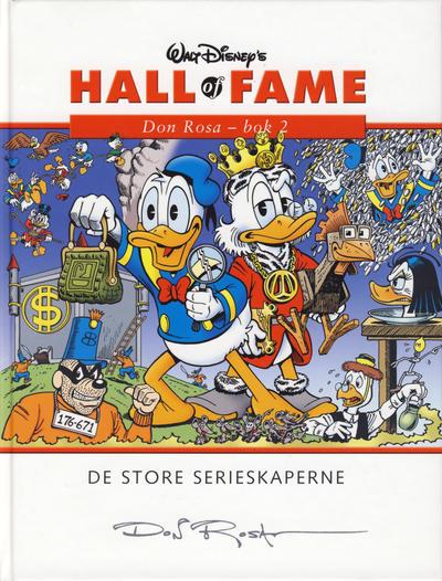 Cover for Hall of Fame (Hjemmet / Egmont, 2004 series) #[5] - Don Rosa 2