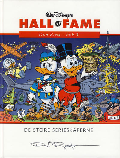 Cover for Hall of Fame (Hjemmet / Egmont, 2004 series) #[10] - Don Rosa 3