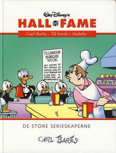 Cover for Hall of Fame (Hjemmet / Egmont, 2004 series) #[8] - Carl Barks 2