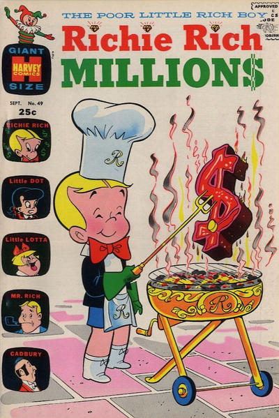 Cover for Richie Rich Millions (Harvey, 1961 series) #49
