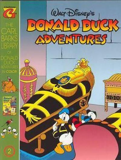 Cover for Carl Barks Library of Walt Disney's Donald Duck Adventures in Color (Gladstone, 1994 series) #2