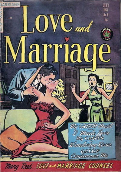 Cover for Love and Marriage (Superior, 1952 series) #9