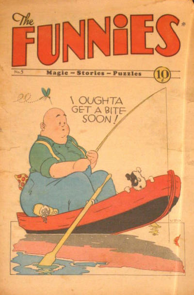 Cover for The Funnies (Dell, 1929 series) #5