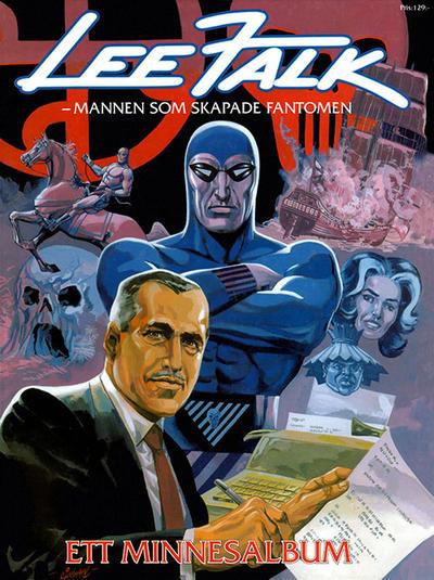 Cover for Fantomen - Lee Falk minnesalbum (Egmont, 1999 series)