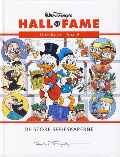 Cover for Hall of Fame (Hjemmet / Egmont, 2004 series) #[31] - Don Rosa 9