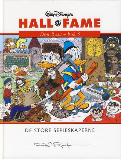 Cover for Hall of Fame (Hjemmet / Egmont, 2004 series) #[20] - Don Rosa 5