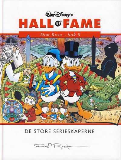 Cover for Hall of Fame (Hjemmet / Egmont, 2004 series) #[27] - Don Rosa 8