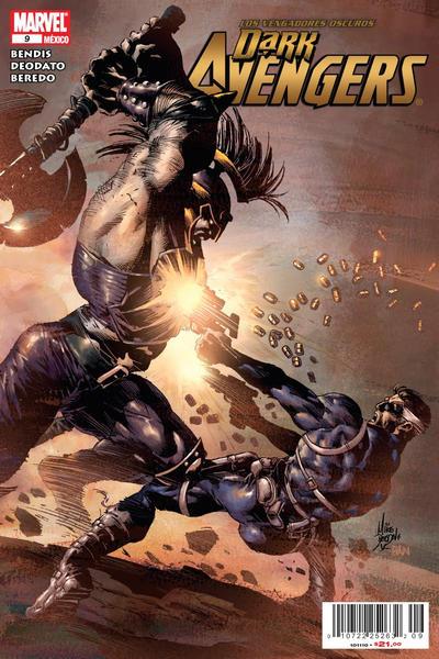 Cover for Los Vengadores Oscuros, Dark Avengers (Editorial Televisa, 2010 series) #9