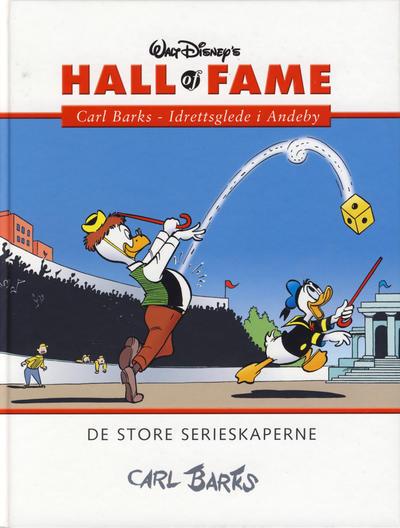 Cover for Hall of Fame (Hjemmet / Egmont, 2004 series) #[18] - Carl Barks 4