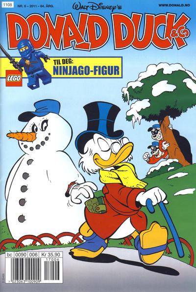 Cover for Donald Duck & Co (Hjemmet / Egmont, 1948 series) #6/2011