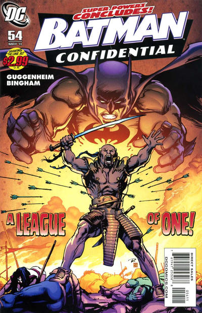 Cover for Batman Confidential (DC, 2007 series) #54