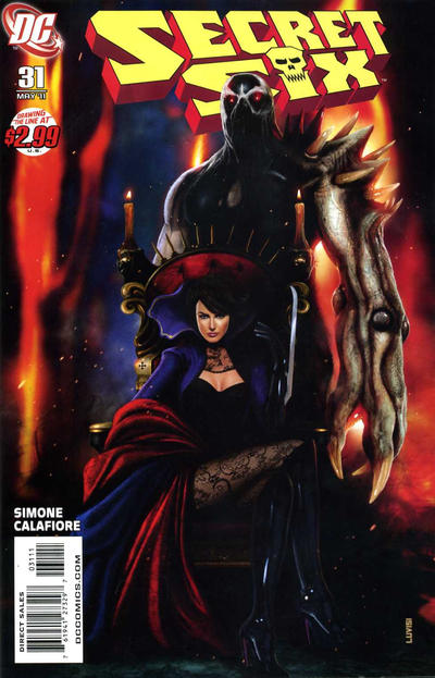 Cover for Secret Six (DC, 2008 series) #31