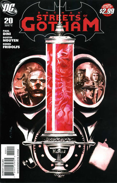 Cover for Batman: Streets of Gotham (DC, 2009 series) #20