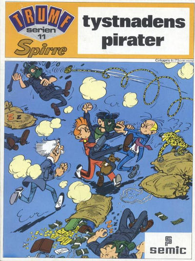 Cover for Trumfserien (Semic, 1971 series) #11 - Spirre: Tystnadens pirater