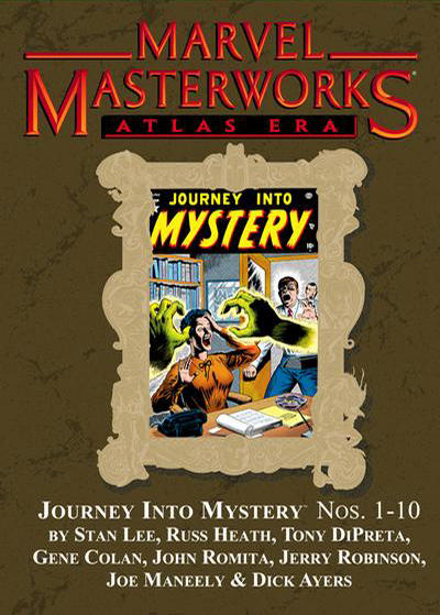 Cover for Marvel Masterworks: Atlas Era Journey Into Mystery (Marvel, 2008 series) #1 (106) [Limited Variant Edition]