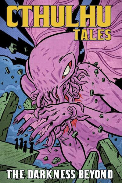 Cover for Cthulhu Tales (Boom! Studios, 2008 series) #4 - The Darkness Beyond