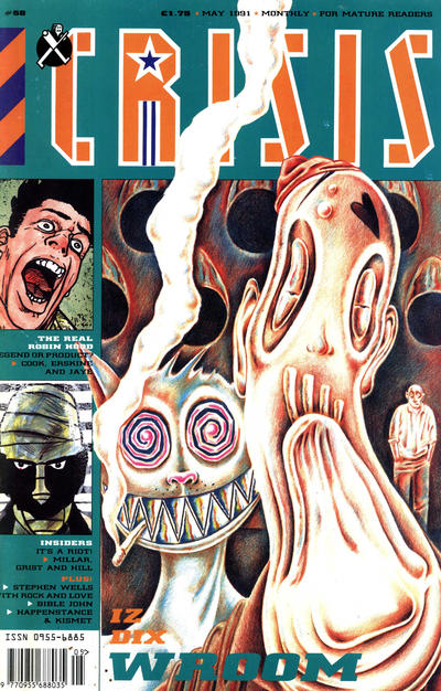 Cover for Crisis (Fleetway Publications, 1988 series) #58