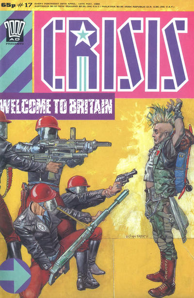 Cover for Crisis (Fleetway Publications, 1988 series) #17