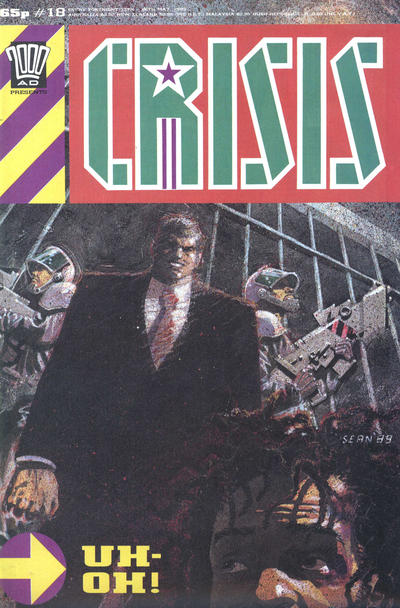 Cover for Crisis (Fleetway Publications, 1988 series) #18
