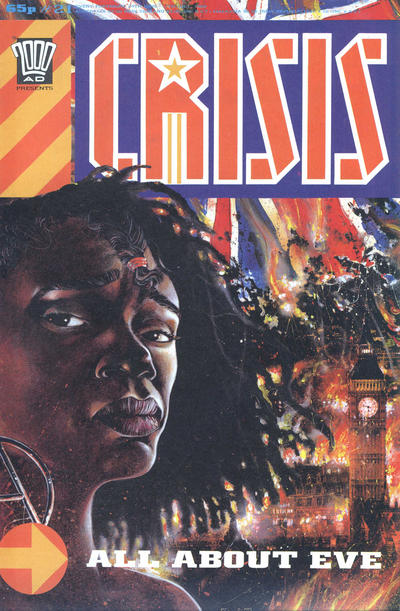 Cover for Crisis (Fleetway Publications, 1988 series) #21