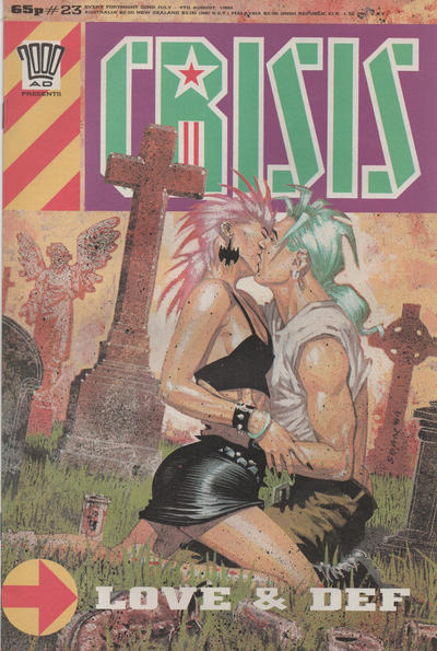 Cover for Crisis (Fleetway Publications, 1988 series) #23