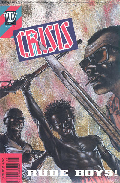 Cover for Crisis (Fleetway Publications, 1988 series) #26