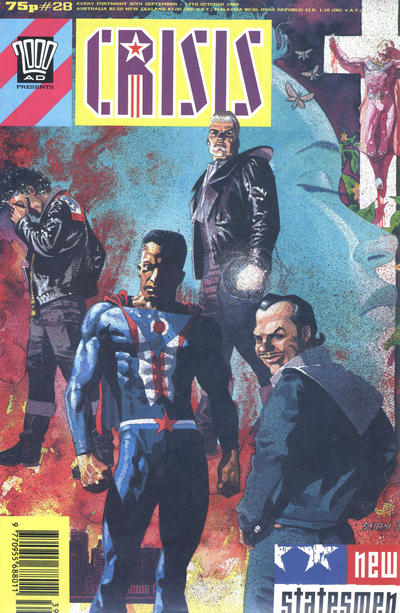 Cover for Crisis (Fleetway Publications, 1988 series) #28