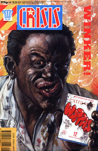 Cover for Crisis (Fleetway Publications, 1988 series) #33
