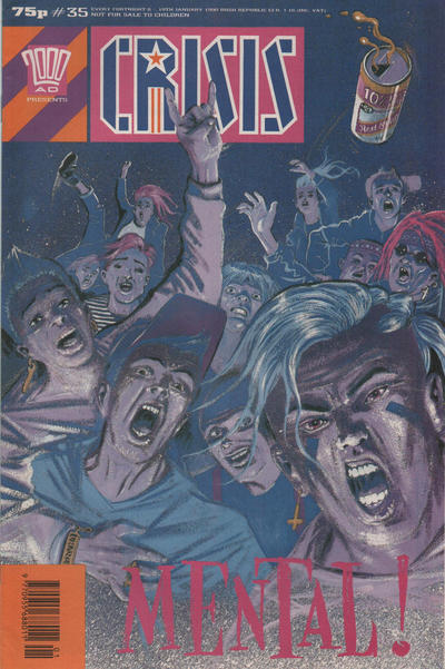 Cover for Crisis (Fleetway Publications, 1988 series) #35