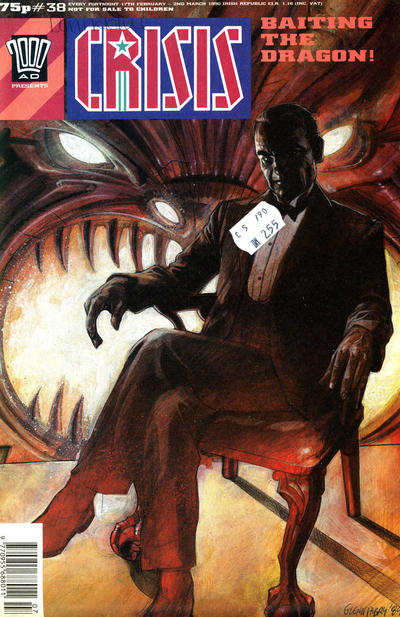 Cover for Crisis (Fleetway Publications, 1988 series) #38