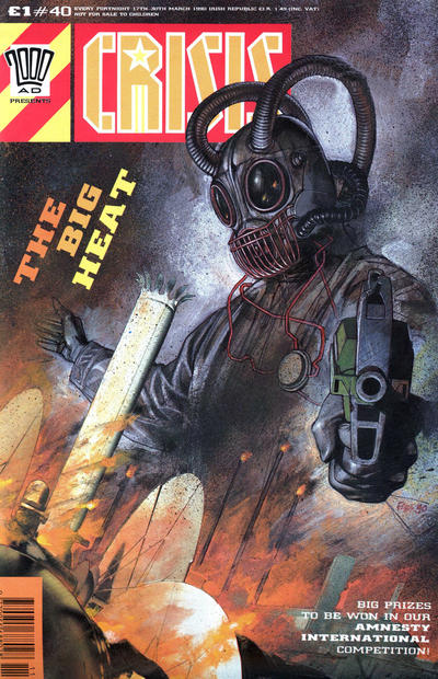 Cover for Crisis (Fleetway Publications, 1988 series) #40