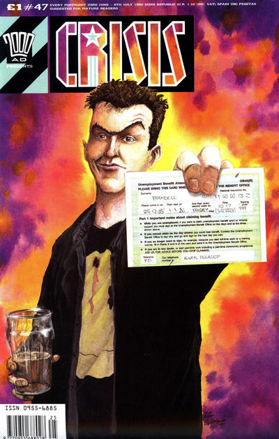 Cover for Crisis (Fleetway Publications, 1988 series) #47