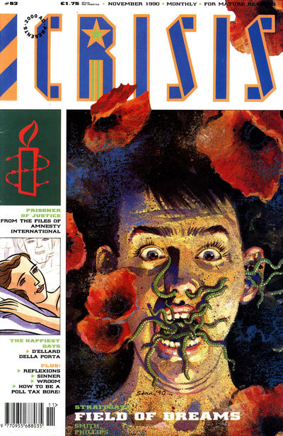 Cover for Crisis (Fleetway Publications, 1988 series) #52