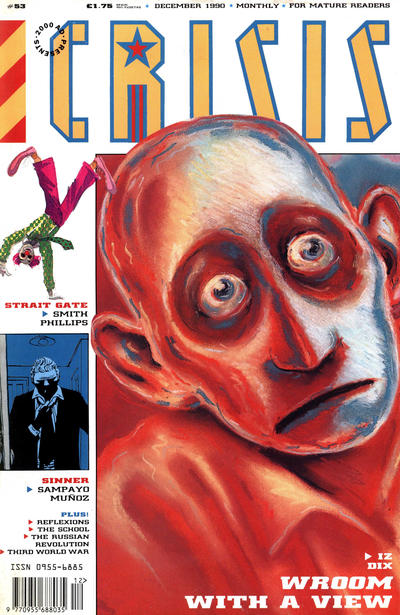 Cover for Crisis (Fleetway Publications, 1988 series) #53