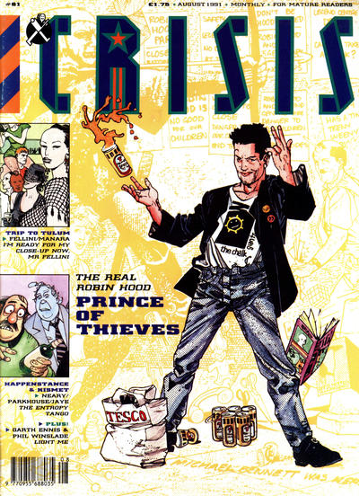 Cover for Crisis (Fleetway Publications, 1988 series) #61